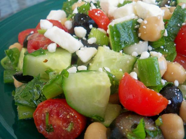Greek Cucumber Salad. Photo by *Parsley*