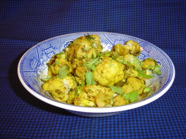 Cauliflower Curry. Photo by Sue Lau