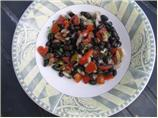 Banana Black Bean Salad