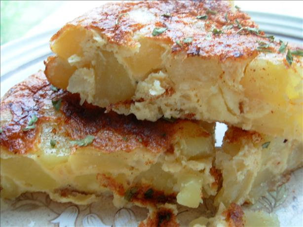 Tortilla Española (Spanish Potato Omelette). Photo by French Tart