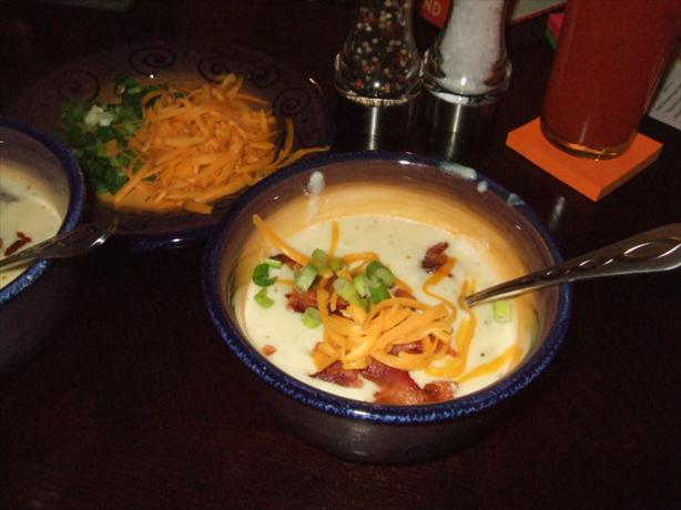 Restaurant Style Baked Potato Soup. Photo by Grimm&#39;s Restaurant Tales