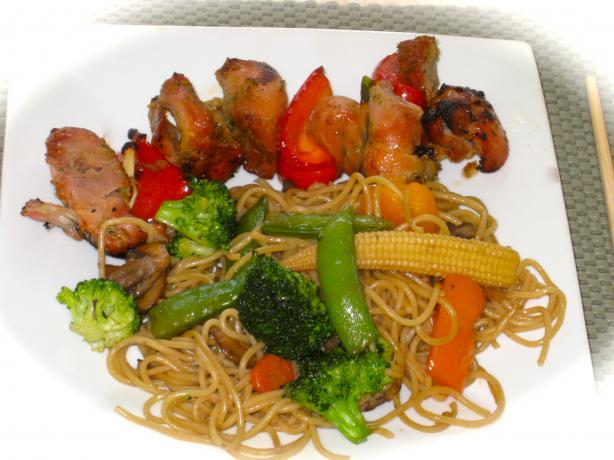 Vegetable Lo Mein. Photo by FrenchBunny