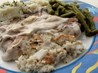 Stuffed Pork Chops in Mushroom Soup. Recipe by mary winecoff