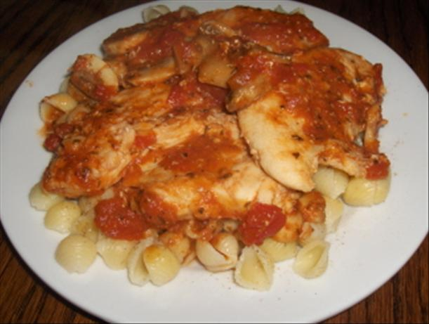 Chicken Cacciatore. Photo by SweetySJD