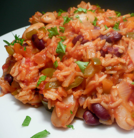 Vegetarian Jambalaya. Photo by Stardustannie