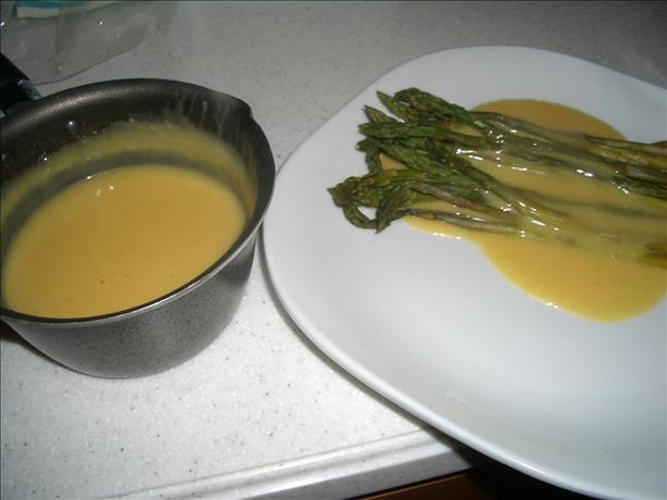 Julia Child's Hollandaise Sauce. Photo by chia