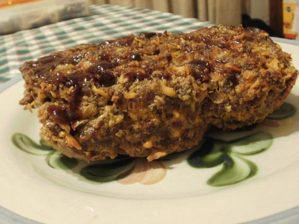 BBQ Bacon Cheeseburger Meatloaf. Photo by Marie Nixon