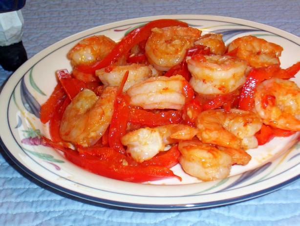 Spicy Garlic Shrimp. Photo by WiGal
