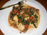 Greek-Style Beef and Cheese Ravioli