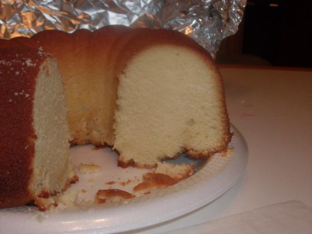 Lemon Sour Cream Pound Cake. Photo by violinist4christ