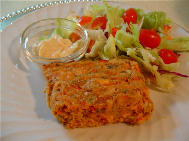 Baked Salmon Loaf. Photo by CountryLady