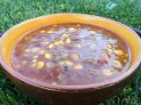 Paula Deen's Taco Soup -- Modified