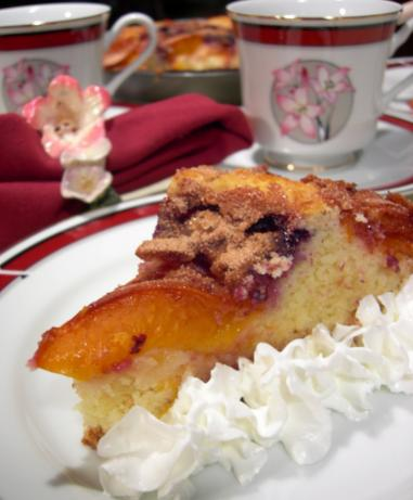 Viennese Plum Cake. Photo by Divaconviva