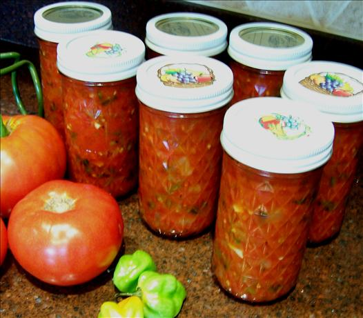 Canned the Summer in a  Salsa !. Photo by Rita~