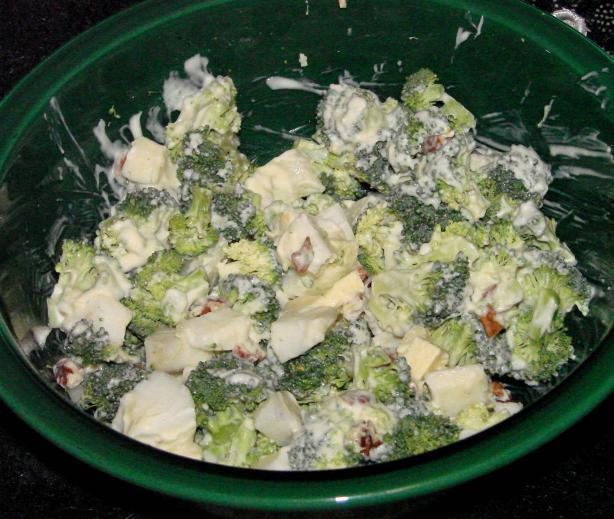 Broccoli Apple Salad. Photo by Boomette