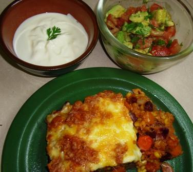 Mexican Taco Casserole. Photo by Karen Elizabeth