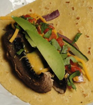 Portabella Tacos. Photo by Debbwl