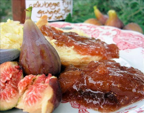 Auberge Fig and Ginger Jam - Confiture. Photo by French Tart