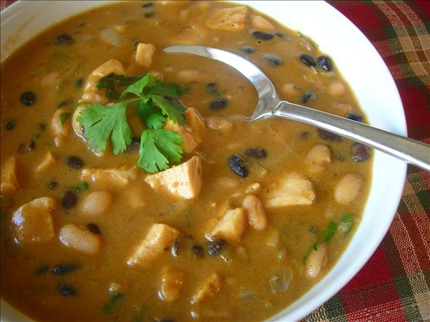 Black and White Bean Chicken Chili. Photo by Pam-I-Am