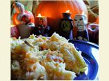 Traditional English Halloween Supper - Mash O' Nine Sorts