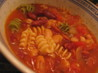 Pasta Fagioli Soup With Smoked Sausage. Recipe by Kittencalskitchen