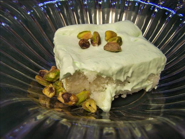 Weight Watchers Pistachio Cake. Photo by CarolAT