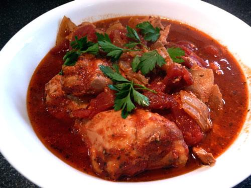 Saucy Italian Style Chicken Thighs - Crock Pot. Photo by Mikekey