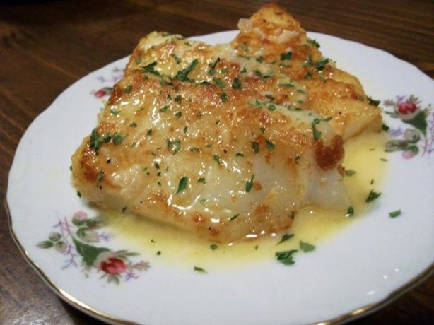 Pan Fried Fish With a Rich Lemon Butter Sauce. Photo by 2Bleu
