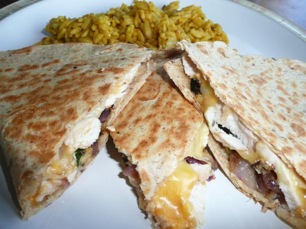 Taco Bell Chicken Quesadillas (Light Version). Photo by CaliforniaJan