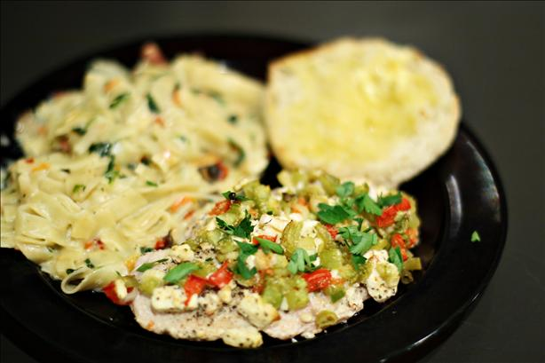 &quot;oopah!&quot;  Feta Chicken Breasts. Photo by CulinaryExplorer