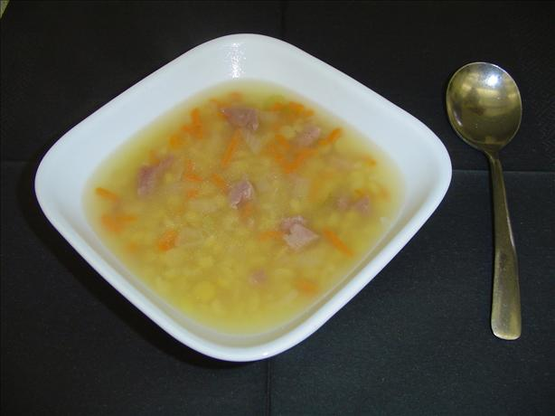 Canadian (Habitant) Yellow Pea Soup. Photo by Canadian Jane