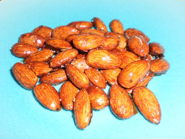 Cinnamon and Honey Almonds. Photo by breezermom