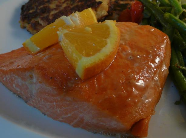 Orange Salmon. Photo by PaulaG
