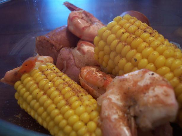 Old Bay Shrimp Boil. Photo by jrusk