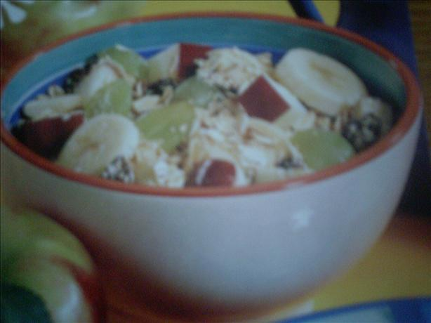 Fruity, and Healthy Oatmeal. Photo by ChefPrincess#12