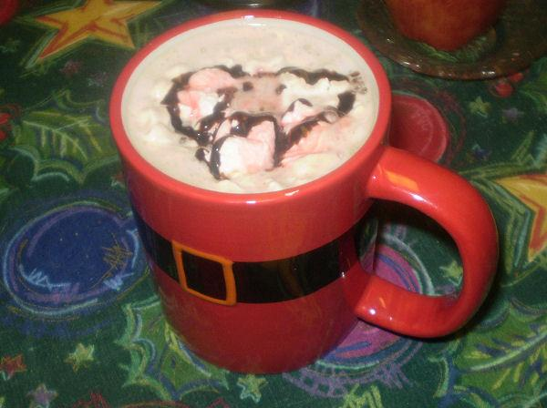 Chocolate Covered Cherry Latte. Photo by Karen=^..^=