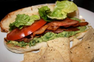 BLT With Spicy Guacamole. Photo by ihvhope