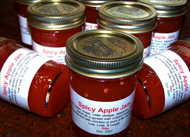 Spicy Apple Jam. Photo by Rita~