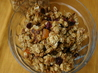 Rose’s Light Nut and Dried Fruit Granola. Recipe by Redsie