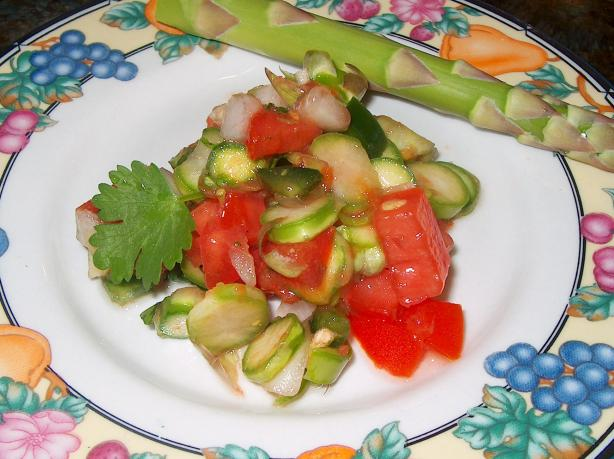 Asparagus Salsa. Photo by michEgan