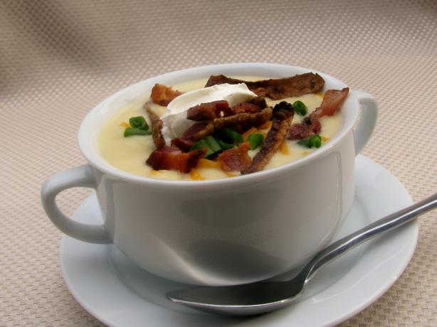 "Loaded "" Baked"" Potato Soup. Photo by lazyme"