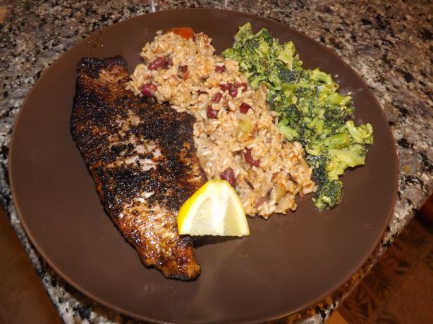 Blackened Catfish. Photo by Mellebell