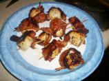 Barbecued Piggy Scallops