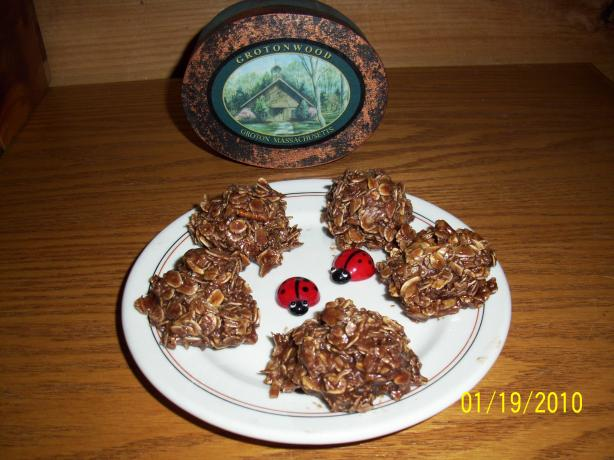 No Bake Oatmeal Cookies. Photo by Suzanna Marie