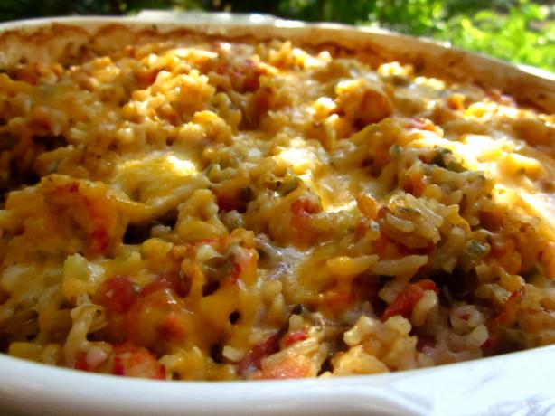 Louisiana Crawfish Casserole. Photo by gailanng