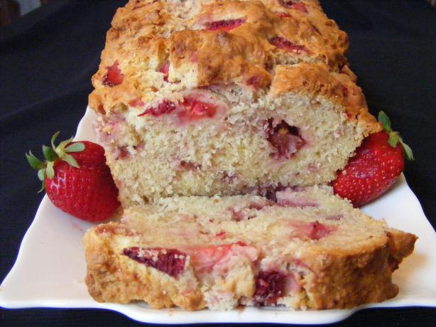 Strawberry Cream Cheese Bread. Photo by Seasoned Cook