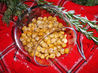 Roasted Chickpeas. Recipe by Julie B's Hive