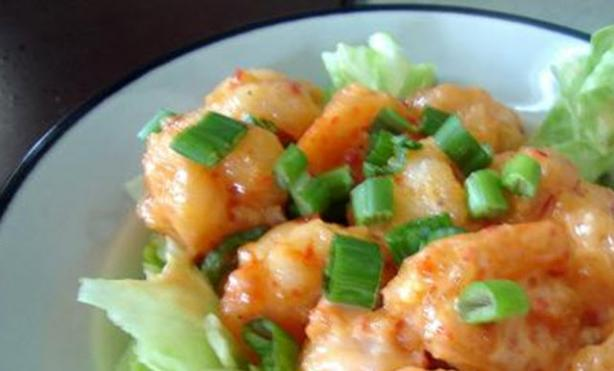 Liar & Fatmouth Bang Bang Shrimp. Photo by KyGolfMom