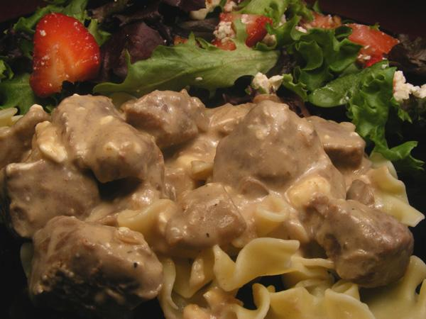 Slow Cooker Beef Stroganoff. Photo by Lavender Lynn