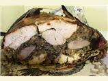 Turducken (A Chicken in a Duck in a Turkey)